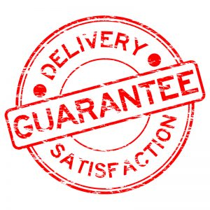 catering delivery guarantee
